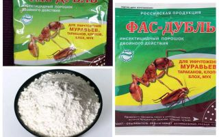 Means Fas from cockroaches: tablets, gel and powder