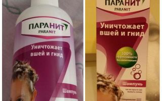 Means Paranit repellent against lice and nits