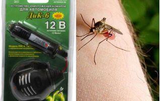 Mosquito repellent in the car