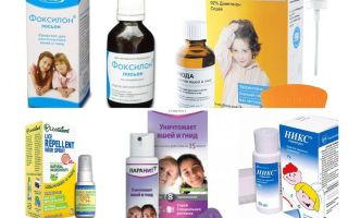 How to get rid of nits and lice in the head of a child