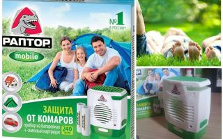 Raptor on mosquito batteries