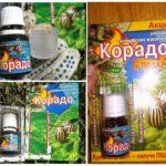 תרופה Corado עבור חיפושית תפוחי אדמה קולורדו