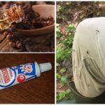 Mosquito cream with clove oil