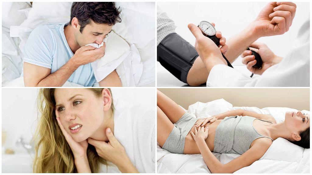 Slimības simptomi pēc inficētas ērču sakosšanas
